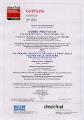certificazione-ISO-22005-2007-gobbifrutta